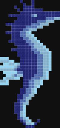 Фигурална мозайка - Водно конче