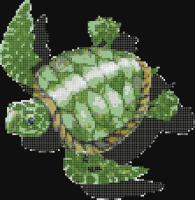 Фигурална мозайка - Костенурка