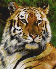 Декоративна мозайка - картина Тигър