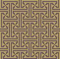 Фигурална мозайка за облицоване на стени