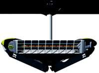 Инфрачервени излъчватели на една стойка