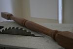 дървени парапети за стълбище - изработка и монтаж