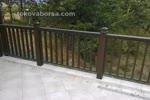 парапет за тераса от дъб