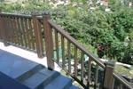 изработка на дървени парапети от бук за тераси